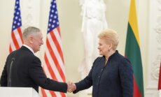 President Grybauskaitė meets the US Secretary of Defense James Mattis