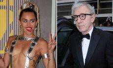 Miley Cyrus ir Woody Allenas