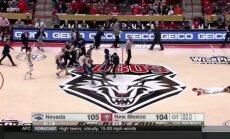 Neįtikėtinas krepšinio stebuklas NCAA rungtynėse