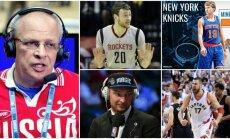 Vladimiras Gomelskis pasisakė apie NBA lietuvius (Scanpix ir Facebook nuotr.)