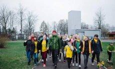 """Pėsčiųjų žygis Lietuvoje """"1000 km Širdies žygis"""""""