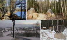 Pažintiniai takai, kuriuos verta aplankyti žiemą