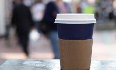 Popierinis kavos puodelis