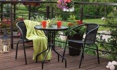 5 dalykai, kuriuos būtina žinoti apie lauko baldus