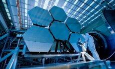 Jameso Webbo kosminio teleskopo konstravimas