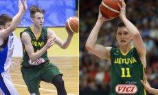 Arnoldas Kulboka ir Laurynas Birutis (FIBA nuotr)