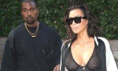 Kim Kardashian ir Kanye'as Westas