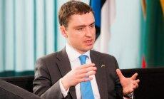 Estonia's Prime Minister Taavi Roivas