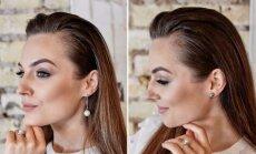 Simona Burbaitė pademonstravo, kaip išsirinkti auskarus pagal veido formą