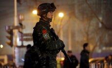 Ginkluotas policininkas Kinijoje