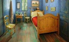 V. van Gogho paveikslo įkvėptas kambarys
