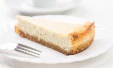 Vanilinis varškės pyragas