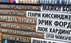 Rusija leidžia knygas su vakarų autorių vardais be jų sutikimo