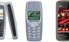 Nokia 2600, Nokia 3310, Nokia 5230