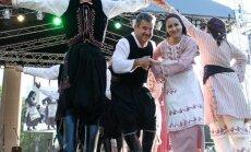 Folkloro festivalis Parbėg laivelis