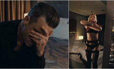 Robbie Williams klipo ištraukos