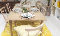Kaip išsirinkti kilimą valgomojo zonai?