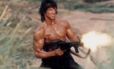 Sylvesteris Stallone filme Rambo: First Blood. Part II (1985 m.)
