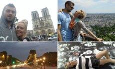 4 Roses narė A. Matukaitė viešėjo Paryžiuje