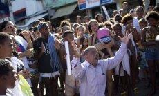 Brazilijoje išvaikyti protestuotojai