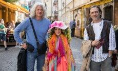 Turistai iš Serbijos su Rožyte