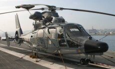 Combat helicopter AS 365 Dauphin