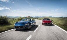 Maserati GranTurismo ir Maserati GranCabrio