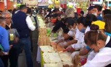 Meksikoje suteptas didžiausias sumuštinis šalies istorijoje