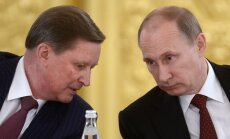 Vladimiras Putinas ir Sergejus Ivanovas