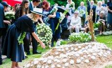 Undinės Nasvytytės laidotuvės