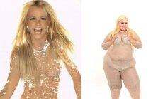 B. Spears ir dainininkė Snowflake