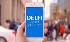 Naujiena: vaizdo diskusijos DELFI portale – kiekvieną darbo dieną