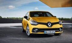 Atnaujintas Renault Clio RS