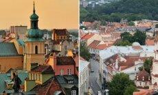 Warsaw and Vilnius