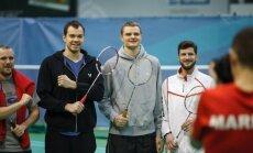 Steponas Babrauskas ir Renaldas Seibutis Kęstučio Navicko teniso turnyre (Audriaus Lekavičiaus nuotr.)