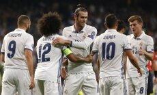 Garethas Bale'as ir Real futbolininkai