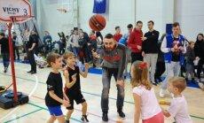 Darželinukų krepšinio čempionato finalai.