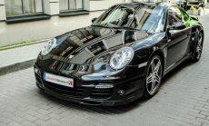 Siūlys išmėginti Porsche 911 Turbo