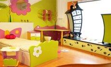 Kaip dekoruoti sienas vaikų kambaryje