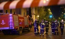 Graikijoje šalia banko nugriaudėjo sprogimas