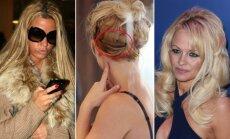 Iš kairės: Katie Price, Britney Spears ir Pamela Anderson
