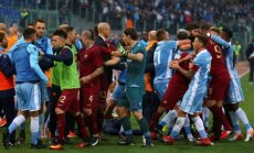 Futbolininkų konfliktas Romos derbyje