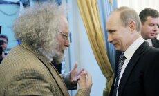 Echo Moskvy vyriausiasis redaktorius Aleksejus Venediktovas ir Vladimiras Putinas