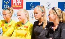 Ieva Dumbauskaitė, Monika Povilaitytė, Urtė Andriukaitytė, Irina Zobnina