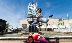 Alytuje įvyko didžiausia iki šiol Olimpinė diena