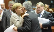 Angela Merkel, Werneris Faymannas