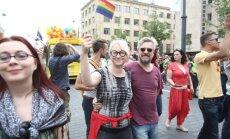 At the Baltic Pride in Vilnius
