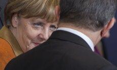 A. Merkel, A. Davutoglu