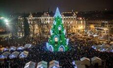 Vilniaus miesto eglutė (S. Žiūros nuotr.)