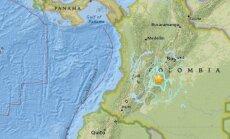 Žemės drebėjimas Kolumbijoje